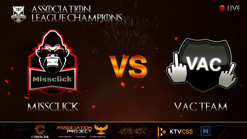 ASSC LEAGUE CHAMPIONS SUPERMAJOR 4 CSSv34 missclick VS VAC TEAM @bo3 19 00