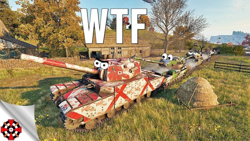 World of Tanks Funny Moments WTF MOMENTS 435 WoT glitches RNG
