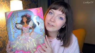АСМР ASMR Распаковка куклы Happy Birthday Barbie Тереза 💖 Барби 90-х