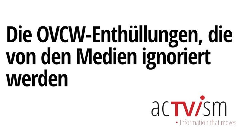 Die OVCW Enthüllungen die von den Medien ignoriert werden