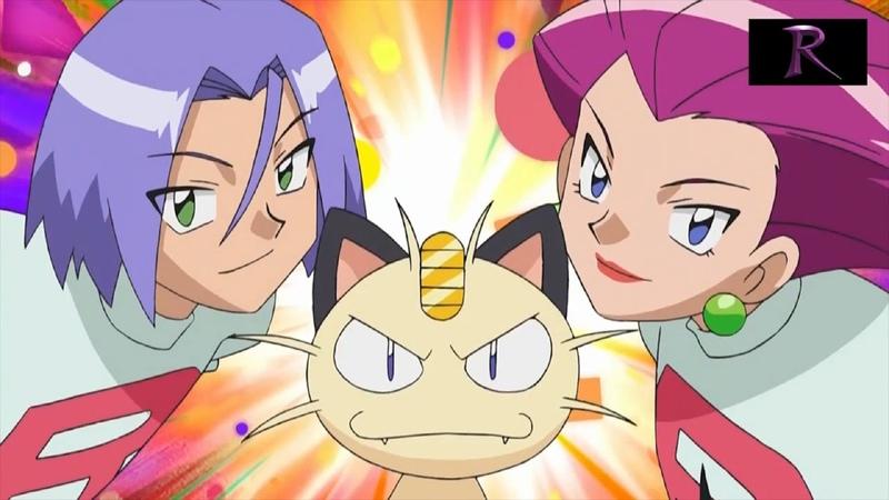 Pokemon - XY - Team Rocket Interrupts Team Flare's Broadcast