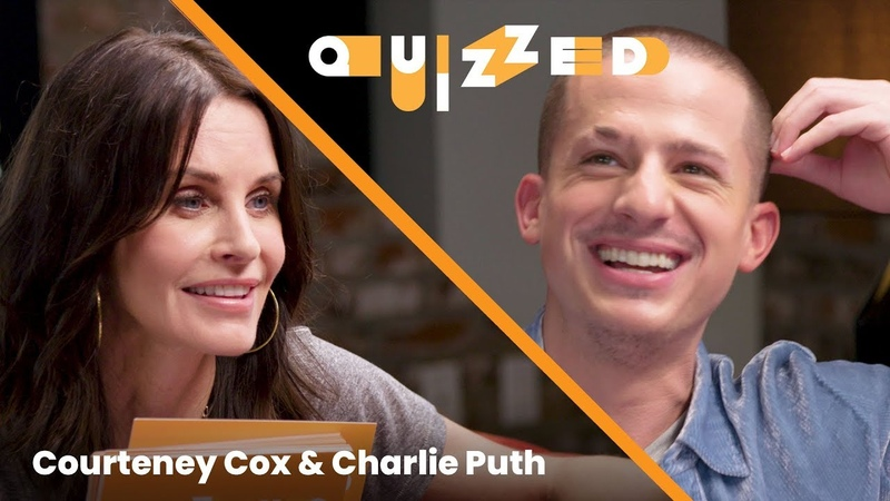 Charlie Puth Gets QUIZZED by Courteney Cox on 'Friends'