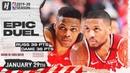 Russell Westbrook vs Damian Lillard EPIC Duel Highlights   Rockets vs Blazers   January 29, 2020