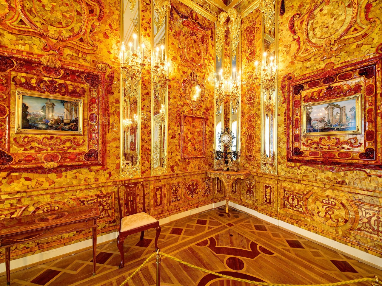 Картинки с янтарной комнатой
