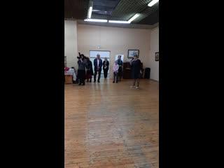Открытие выставки Сергея Гусарина в молодежном центре