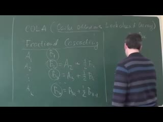 COLA (Cache Oblivious Lookahead Array)