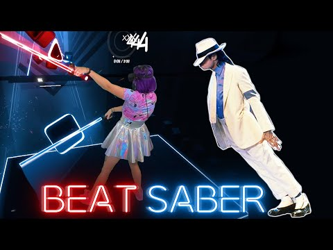 Smooth Criminal in BEAT SABER Mixed reality