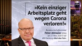 Krankenhaussterben vs. Corona Bettenbelegung - Seehofers Flugservice für Asylsuchende -  AstraZeneca