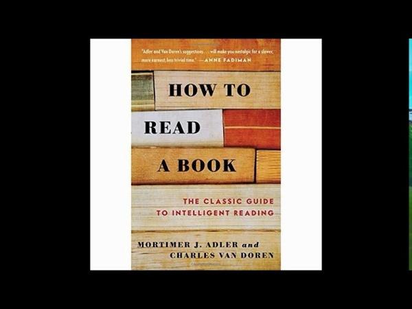 How To Read A Book Mortimer J Adler and Charles Van Doren Part 2 full Audio Book