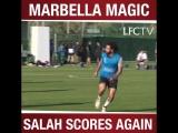 Salah scores again...