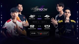 BTS vs. TS | CES vs. GAM (Bo3) - VCS Mùa Xuân 2021 - W9D1