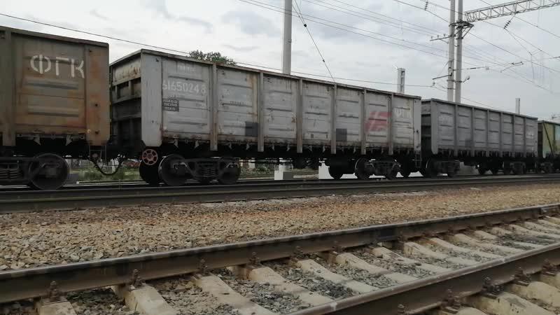 2М62 0857 ОКТ Ж Д ТЧЭ 30 Суоярви Следует с грузовым Петрозаводск