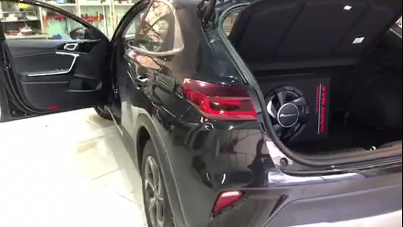 Установка Автозвука на Kia 2020 в Авто Ателье АврорА