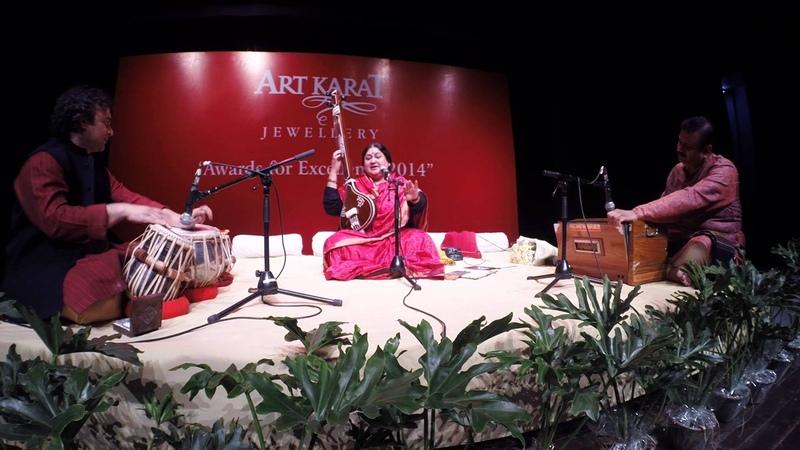 Meera Bhajan by Shubha Mudgal with Aneesh Pradhan (Tabla), Sudhir Nayak (Harmonium)