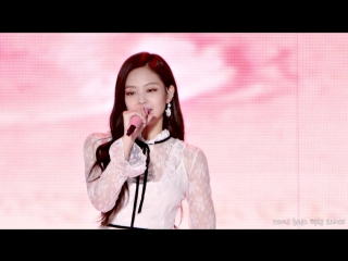 171028 BLACKPINK - STAY (Jennie focused) @ Pyeongchang Music Festa