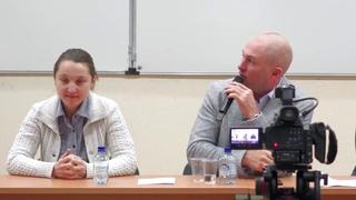 2017-10-27 Пресс конференция Дмитрия Яромова Москва, МГУ