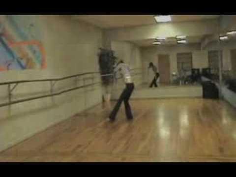 Summer Glau Dance Rehearsal for SCC