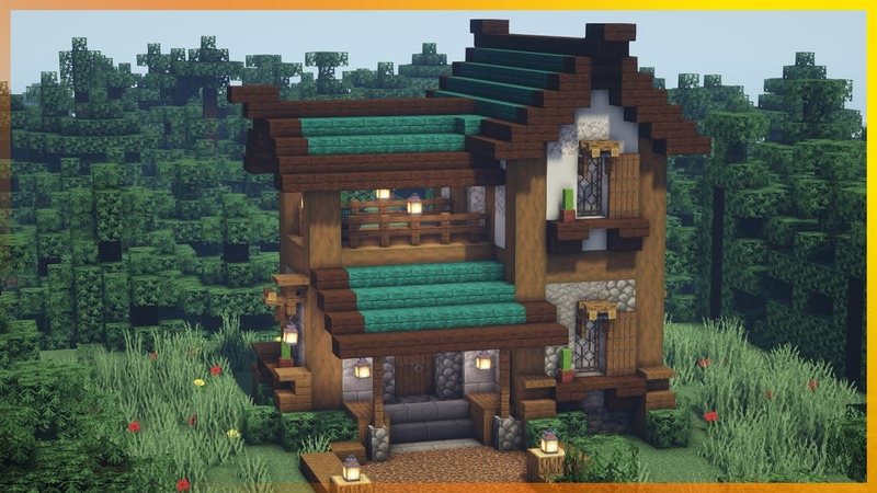 ⚒️ Minecraft How to Build a Medieval House