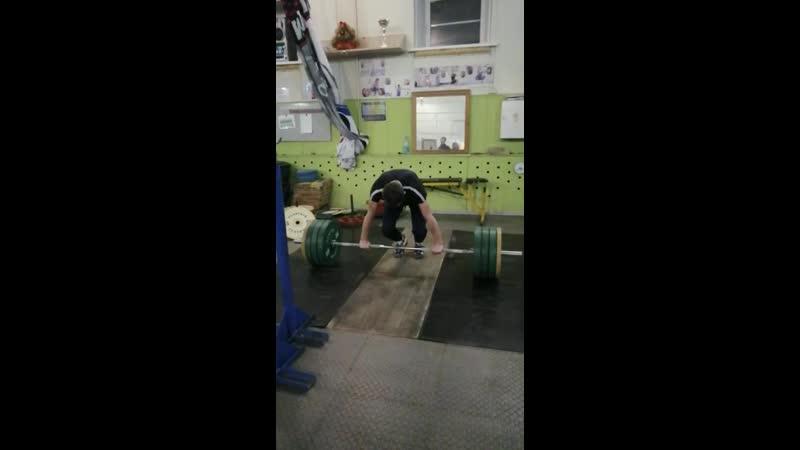 Дима Парнов толчок 95 кг