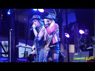 Richie Sambora + Orianthi- Concert at NAMM 2017