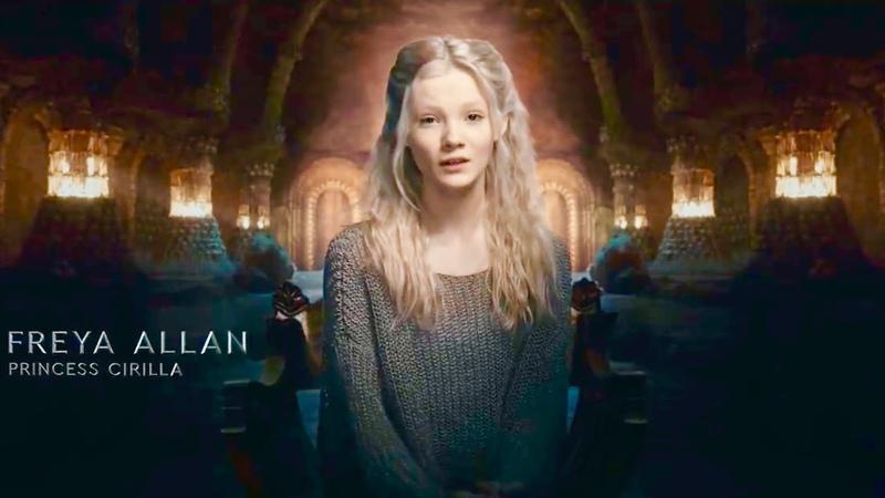Ведьмак Принцесса Цирилла львенок из Цинтры Специальный взгляд в озвучке TV Shows