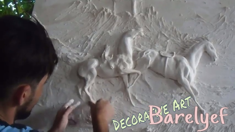 How To Make Bas-Relief Sculpture _ Decorative Art play