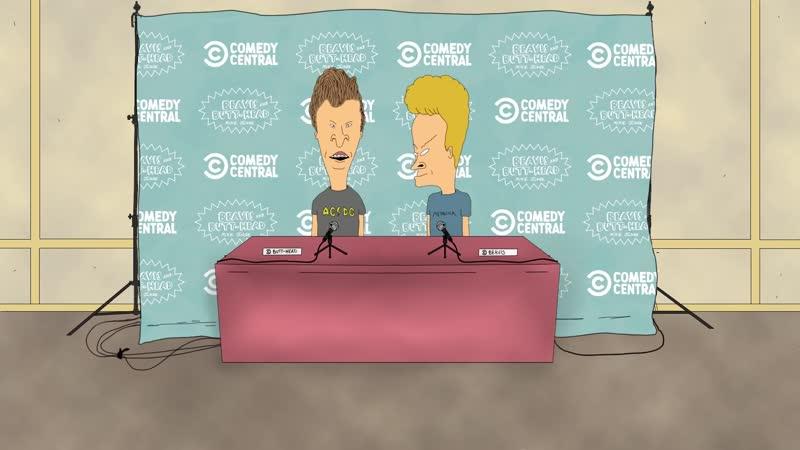 Бивис и Батхед о новом сериале Comedy Central 2020