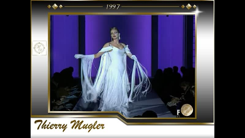 Thierry Mugler Haute Couture Spring Summer 1997 Full Show EXCLUSIVE