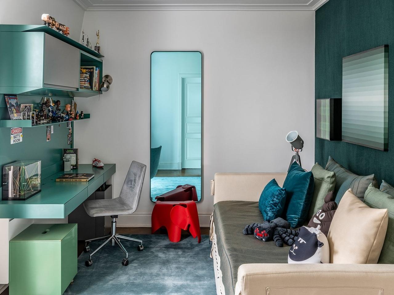 Квартира для молодой семьи в Сан-Паулу по проекту Диего Револло || 02