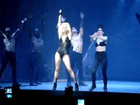 Lady Gaga Teeth Live Monster Ball