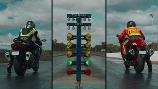 2022 vs 2020 Suzuki Hayabusa Drag Race Showdown | Gen III vs Gen II