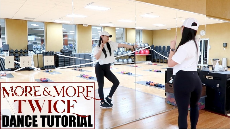 TWICE MORE MORE Lisa Rhee Dance Tutorial