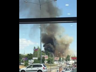 В Волгограде на проспекте Ленина взорвалась газовая заправка. После взрыва на газовой заправке пострадало четверо.По предвари