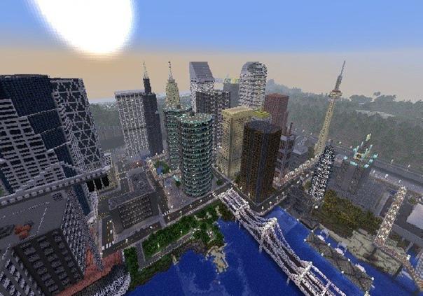 как создать город буерк в майнкрафте #10