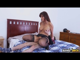 Syren De Mer - milf mature boobs busty anal sex creampie porn blowjob кремпай матурка милфа