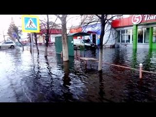 потоп лето 2018 возле фока давлеканово