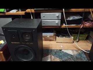 тест комплекта фонокорректор + усилитель клон найм нап 200+акустика квадрал 120