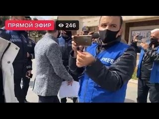 Митинг против русских в Баку