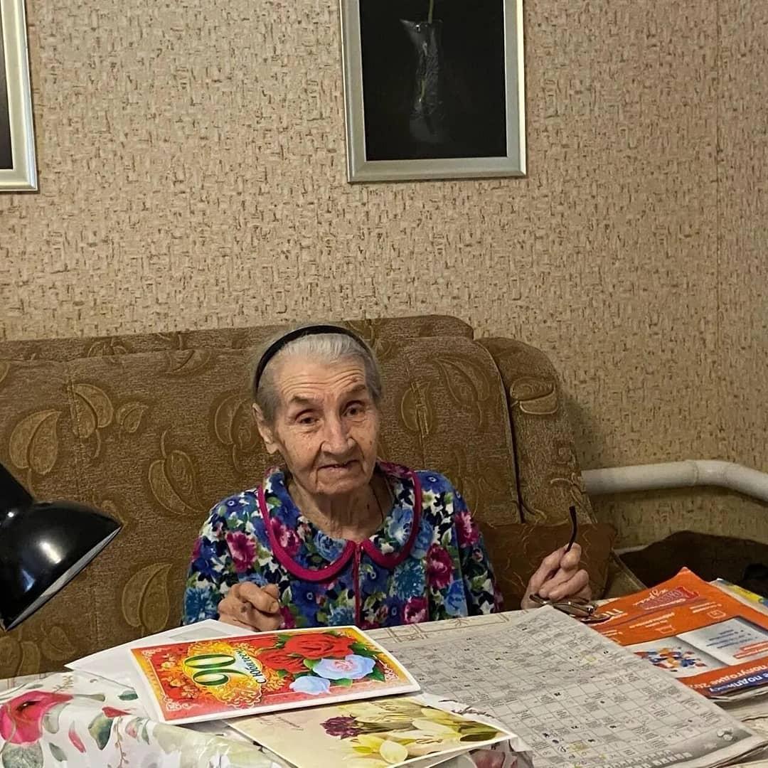 Юбилейный - 90-й день рождения отмечает сегодня петровчанка Нина Михайловна БЕЗВЕРХОВА