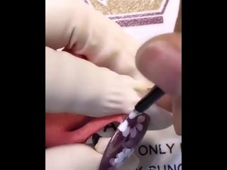 Видеоурок красивого маникюра