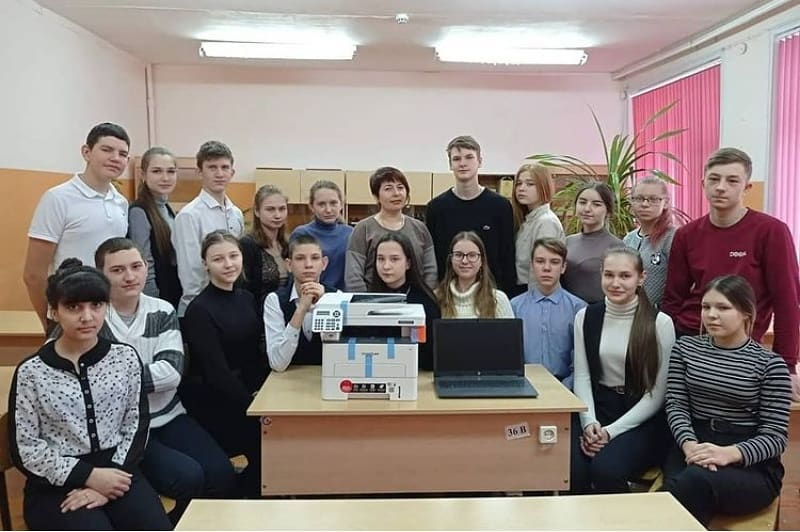 Победители и призёры областного конкурса «Лучший ученический класс в 2019/2020 учебном году» получили подарки