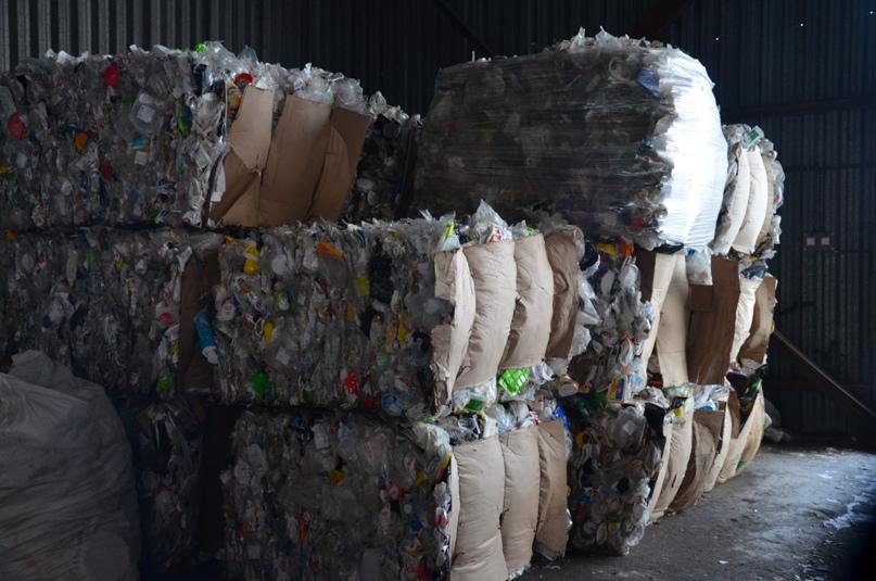 Отсортированный пластик