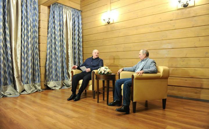 Лукашенко рассказал оподробностях переговоров сПутиным