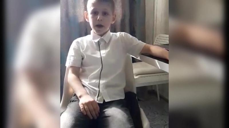 Басня Волк и Кот Мкртчян Артуш