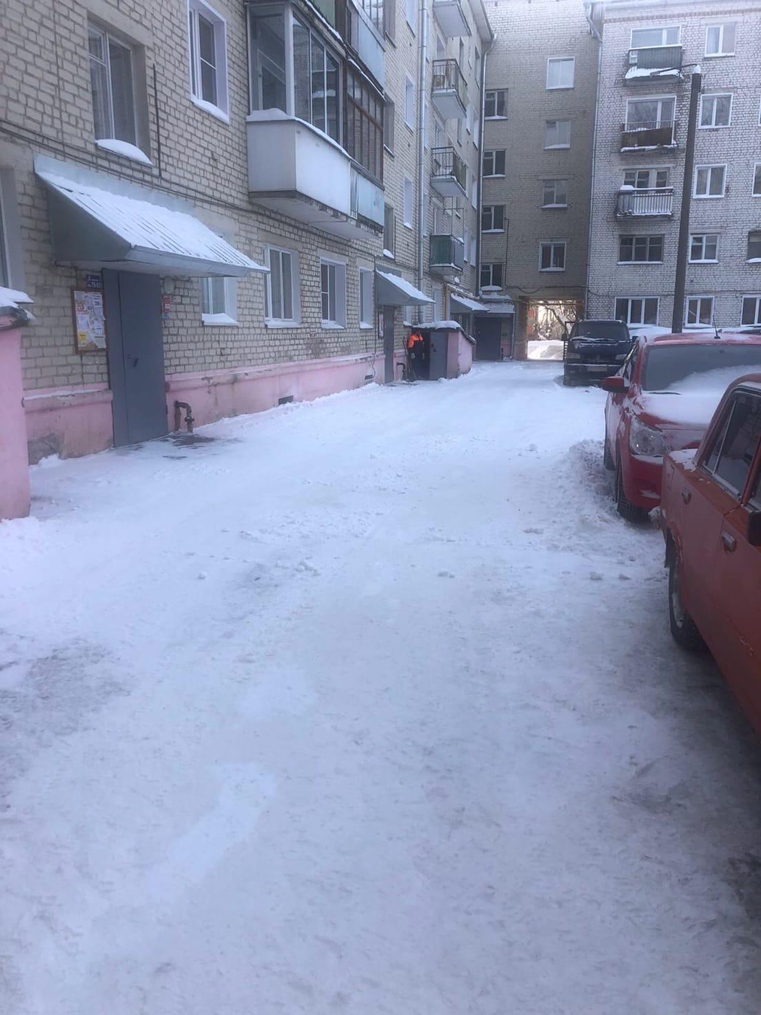 Механизированная уборка Октябрьский проспект дом 34