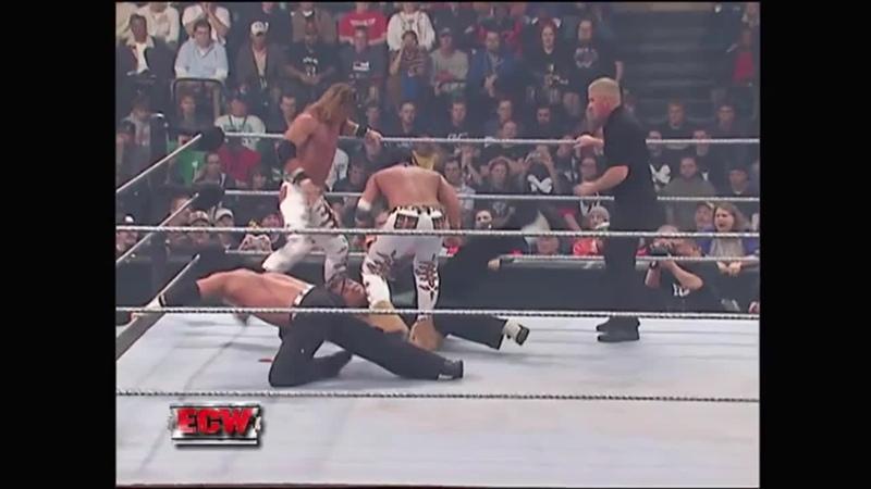 WM Братья Харди против Джонни Найтро и Джоуи Меркьюри ECW December to Dismember 02 12 2006