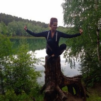 Фотография страницы Ольги Страховой ВКонтакте