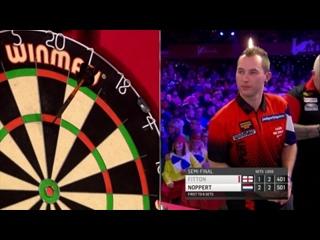 Darryl Fitton vs Danny Noppert (BDO World Darts Championship 2017 / Semi Final)