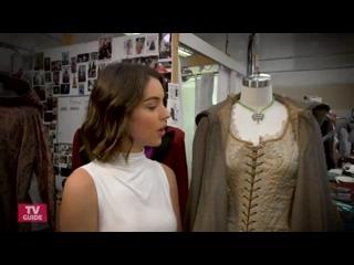 """Аделаида Кейн (Дризелла) в костюмерной сериала """"Однажды в сказке"""""""
