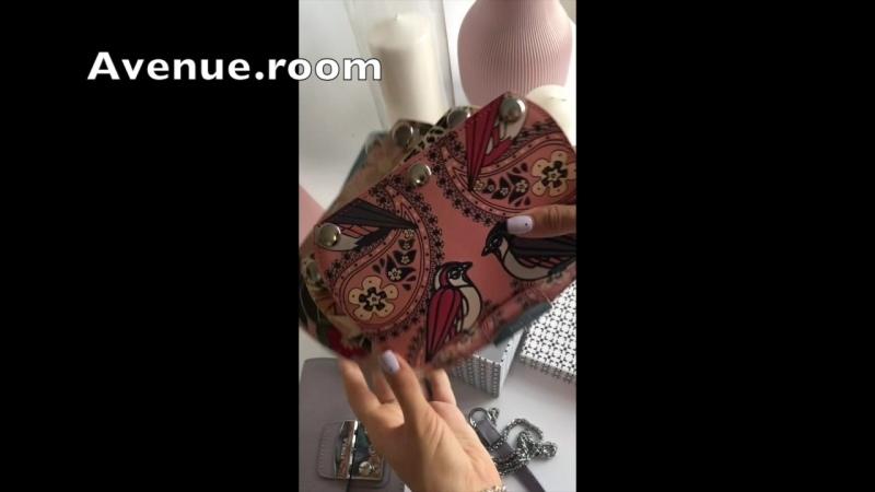 Furlа мини сумка с четырьмя крышками Натуральная кожа